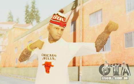 Bulls Skin para GTA San Andreas