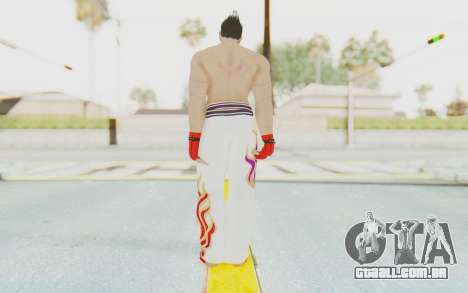Kazuya Mishima Skin para GTA San Andreas terceira tela