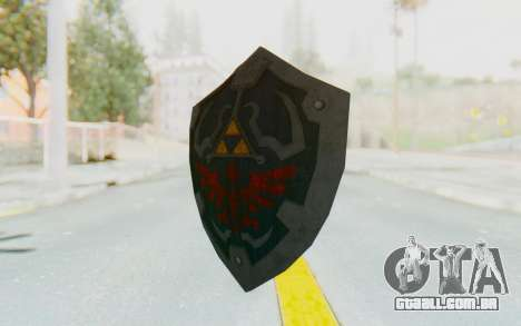 Hylian Shield HD from The Legend of Zelda para GTA San Andreas