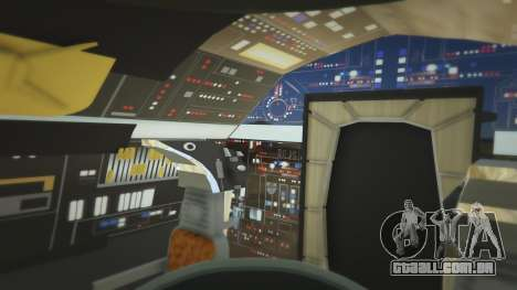 GTA 5 Star Wars Millenium Falcon 5.0 sétima screenshot