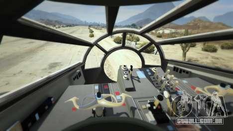 GTA 5 Star Wars Millenium Falcon 5.0 sexta imagem de tela