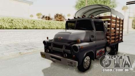 Chevrolet 56 Mini C.O.E. para GTA San Andreas vista direita