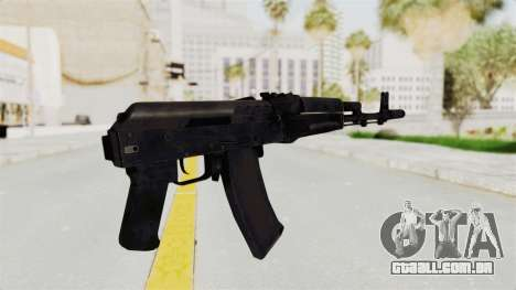 AK-74M v2 para GTA San Andreas terceira tela