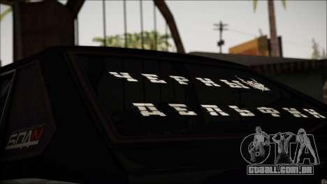 2109 Vagabundo para GTA San Andreas vista traseira