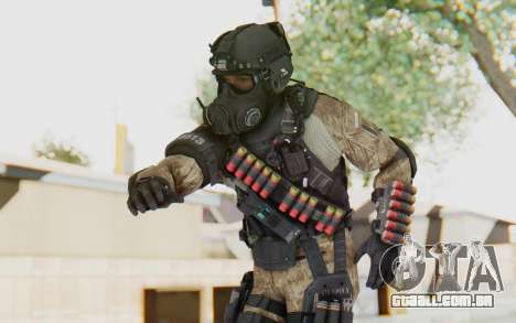 Federation Elite Shotgun Desert para GTA San Andreas