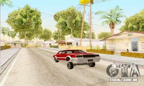 New Tahoma from GTA 5 para GTA San Andreas vista direita