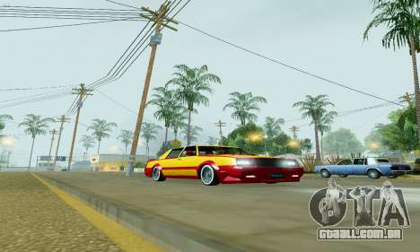 New Tahoma from GTA 5 para GTA San Andreas esquerda vista
