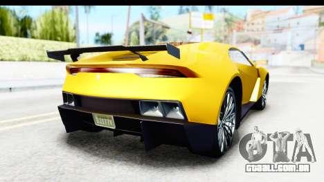 GTA 5 Pegassi Reaper v2 IVF para GTA San Andreas vista direita