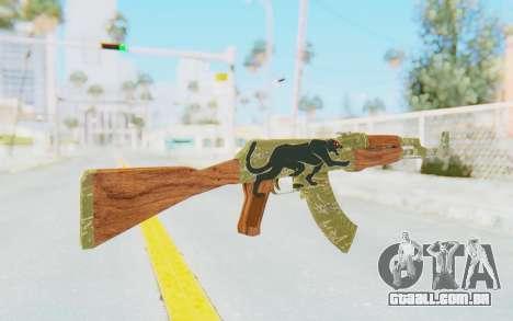 CS:GO - AK-47 Jaguar para GTA San Andreas segunda tela