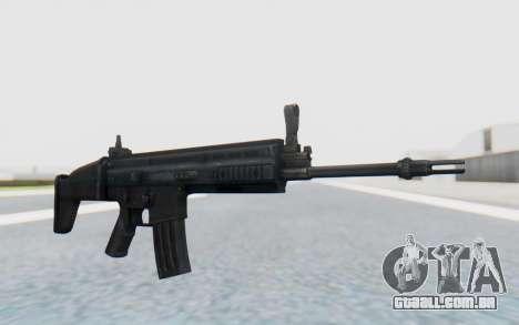 SCAR-L para GTA San Andreas segunda tela