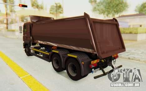 MAN TGA Energrom Edition v2 para GTA San Andreas traseira esquerda vista