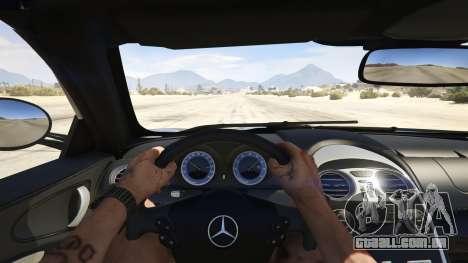 GTA 5 Mercedes-Benz SLR 722s Roadster & Mansory voltar vista