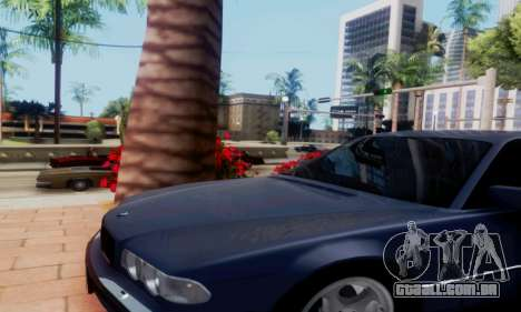 BMW 750 para GTA San Andreas vista direita