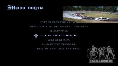New menu para GTA San Andreas