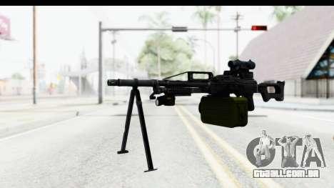 Kalashnikov PK (PKM) para GTA San Andreas segunda tela