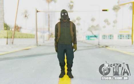 The Division Cleaners - Shield para GTA San Andreas segunda tela