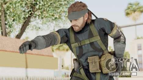 MGSV Phantom Pain Big Boss SV Sneaking Suit v1 para GTA San Andreas