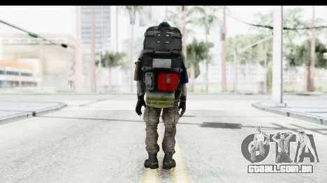 The Division Last Man Battalion - Medic para GTA San Andreas terceira tela