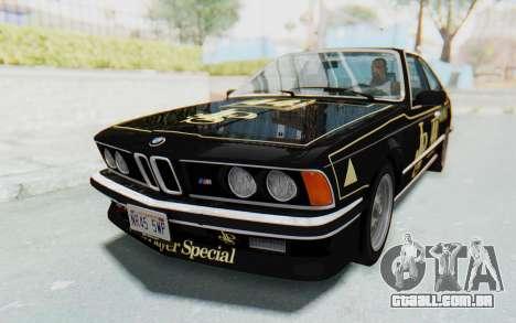 BMW M635 CSi (E24) 1984 HQLM PJ3 para as rodas de GTA San Andreas