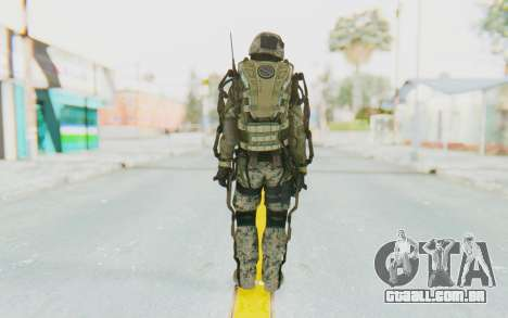 CoD AW US Marine Assault v3 Head C para GTA San Andreas terceira tela