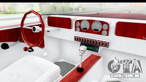 Unique V16 Phaeton para GTA San Andreas vista interior