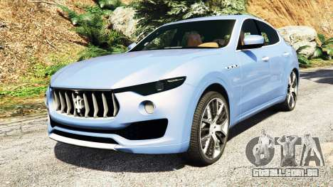 Maserati Levante 2017 [add-on] para GTA 5