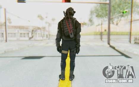 Federation Elite SMG Tactical para GTA San Andreas terceira tela