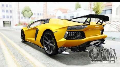 Lamborghini Aventador LP700-4 LB Walk para GTA San Andreas vista direita