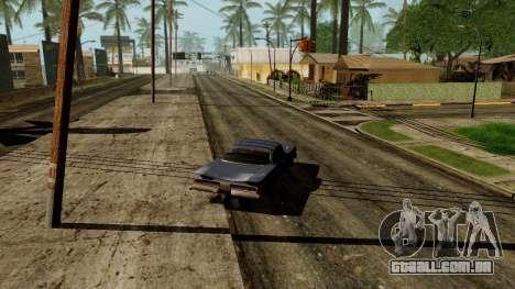 GeForce ENB para PC fraco para GTA San Andreas quinto tela