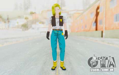Dragon Ball Xenoverse Android 18 Cell Tournament para GTA San Andreas segunda tela