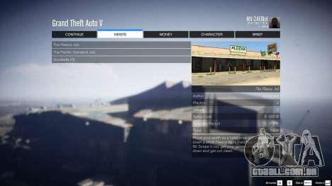 GTA 5 Heist Project 0.4.32.678 sexta imagem de tela