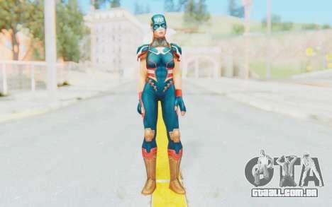 Marvel Future Fight - Captain America (2099) para GTA San Andreas segunda tela