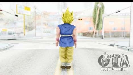 Dragon Ball Xenoverse Goku GT Adult SSJ1 para GTA San Andreas terceira tela