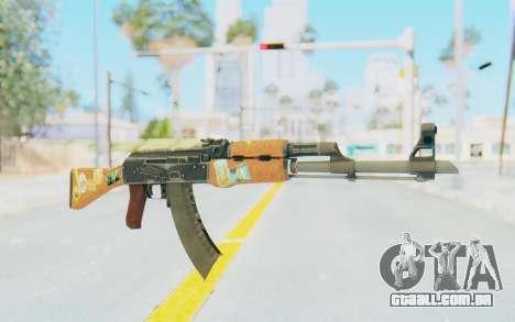 CS:GO - AK-47 Jetset para GTA San Andreas