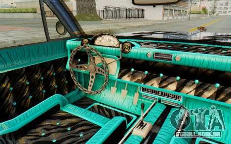 GTA 5 Declasse Voodoo Alternative v2 PJ para GTA San Andreas vista interior