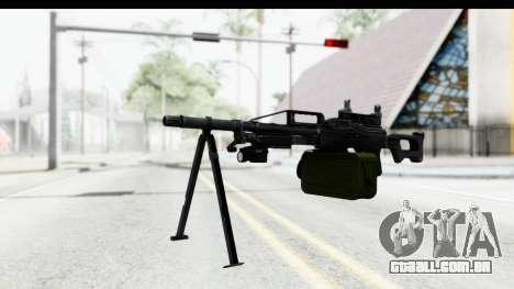 Kalashnikov PK (PKM) Iron Sights para GTA San Andreas segunda tela