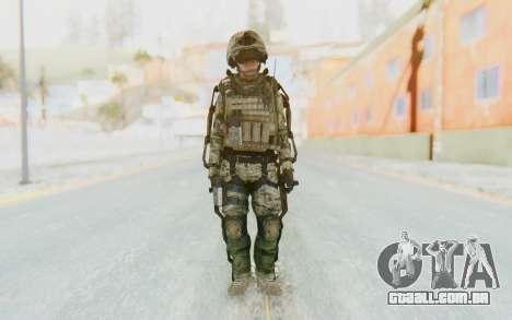 CoD AW US Marine Assault v4 Head D para GTA San Andreas segunda tela