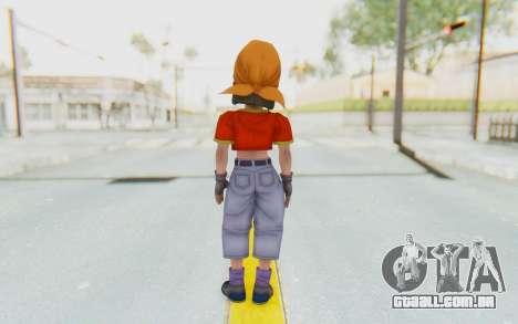 Dragon Ball Xenoverse Pan SJ para GTA San Andreas terceira tela