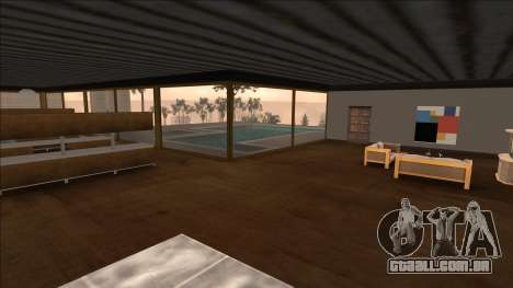 Beta Mulholland Safehouse para GTA San Andreas terceira tela