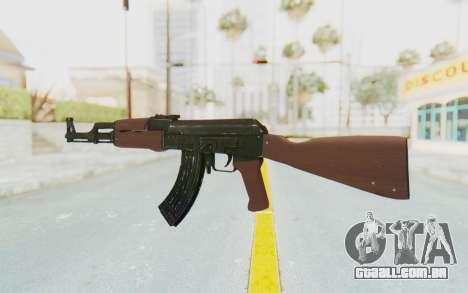 Assault AK-47 para GTA San Andreas segunda tela