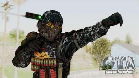 CoD Advanced Warfare KVA Heavy Soldier para GTA San Andreas