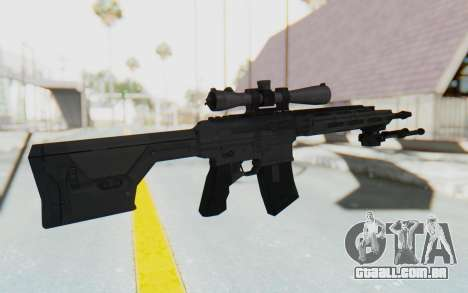 CoD: MW3 - Remington RSASS para GTA San Andreas terceira tela
