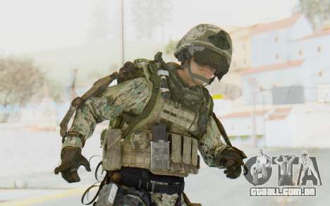 CoD AW US Marine Assault v4 Head D para GTA San Andreas