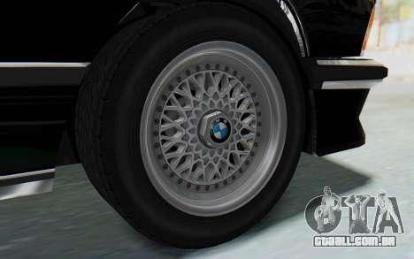 BMW M635 CSi (E24) 1984 HQLM PJ3 para GTA San Andreas vista direita