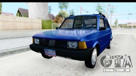 Fiat 147 Spazio TR Stock para GTA San Andreas traseira esquerda vista