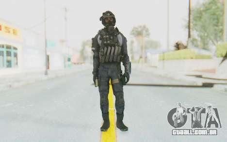Federation Elite SMG Original para GTA San Andreas segunda tela