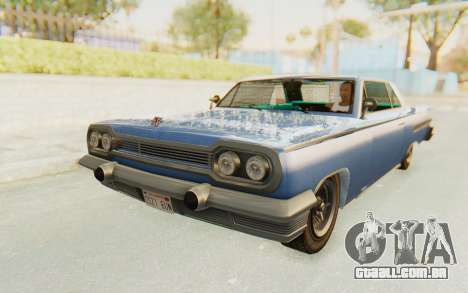 GTA 5 Declasse Voodoo Alternative v2 PJ para GTA San Andreas