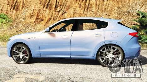 GTA 5 Maserati Levante 2017 [add-on] vista lateral esquerda