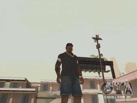 T-shirt que eu sou o BATMAN para GTA San Andreas segunda tela