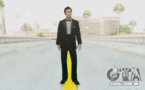 Mafia 2 - Vito Scaletta Tuxedo para GTA San Andreas segunda tela